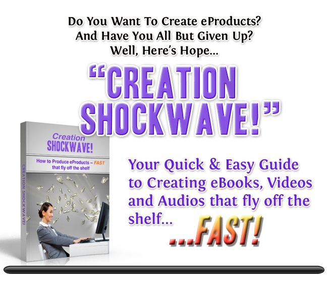 How to create your own products